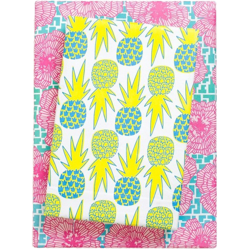 EarthHero - Hawaiian Pineapple Recycled Gift Paper (6pk) 1