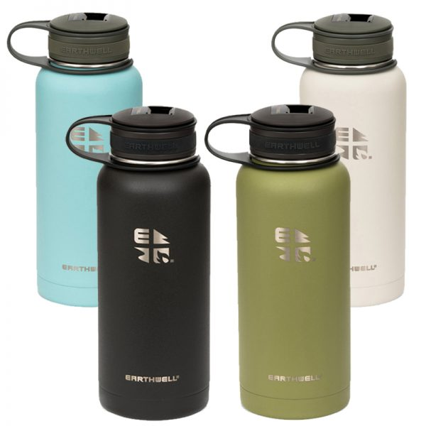 EarthHero - Kewler Wide Mouth Insulated Stainless Steel Water Bottle 32oz - 1