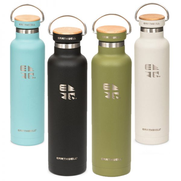 EarthHero - Maple Insulated Stainless Steel Water Bottle 22oz  - 1