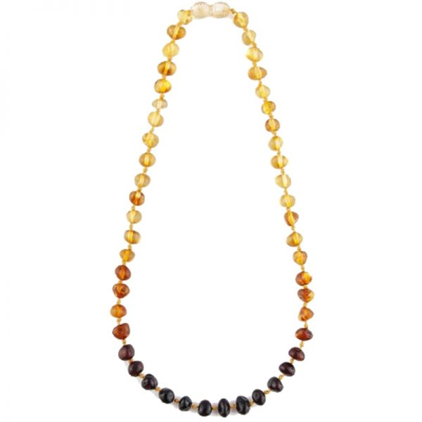 EarthHero - Baltic Amber Teething Necklace  | EcoPiggy | Eco-Friendly Baby - 1