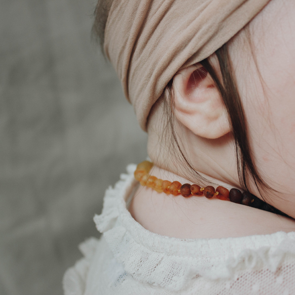 EarthHero - Baltic Amber Teething Necklace  | EcoPiggy | Eco-Friendly Baby - 2