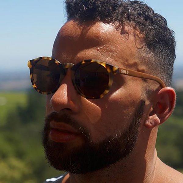 EarthHero - Mali Bamboo Polarized Sunglasses - 5