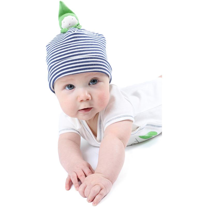 EarthHero - Bean Sprout Organic Baby Beanie - 1