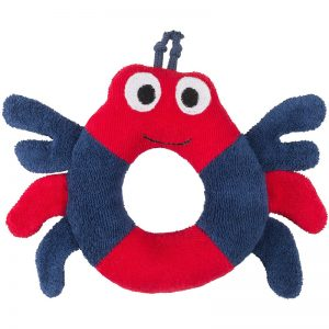 EarthHero - Crab Ring Organic Plush Toy - 1