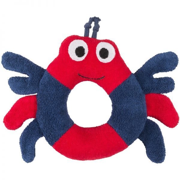 EarthHero - Crab Ring Organic Plush Toy - 1