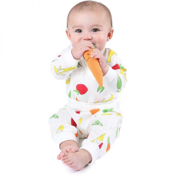 EarthHero - Organic Side Snap Baby Pajama Set - 1