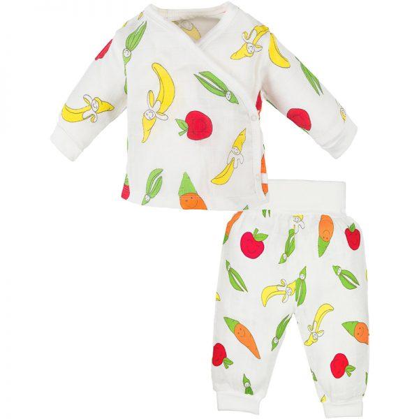 EarthHero - Organic Side Snap Baby Pajama Set - 2