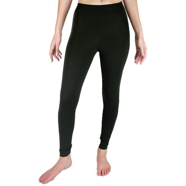 EarthHero - Organic Cotton Ankle Leggings - Black