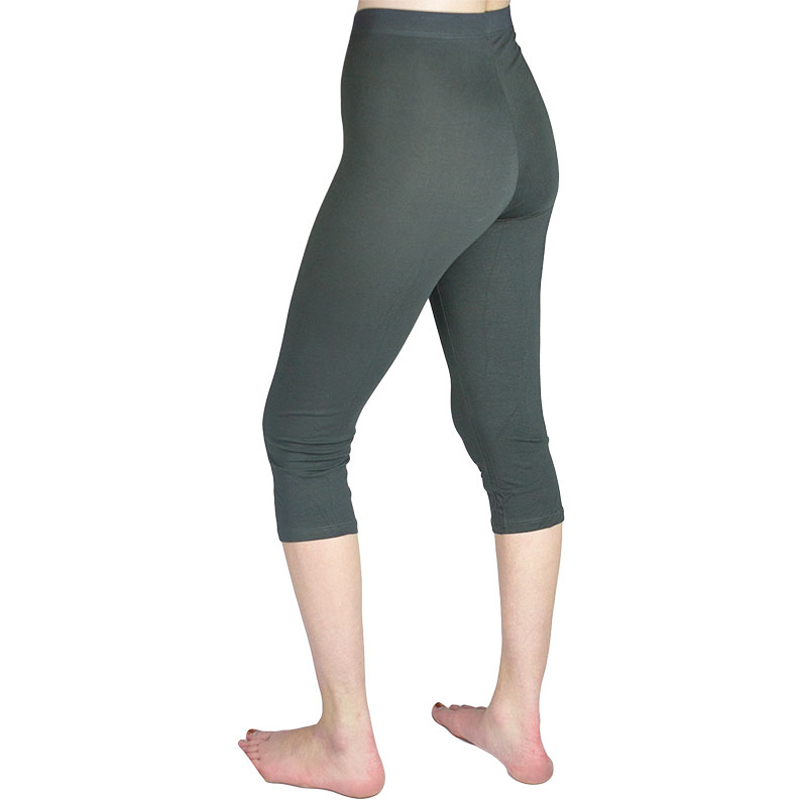 EarthHero - Organic Cotton Capri Leggings - Slate
