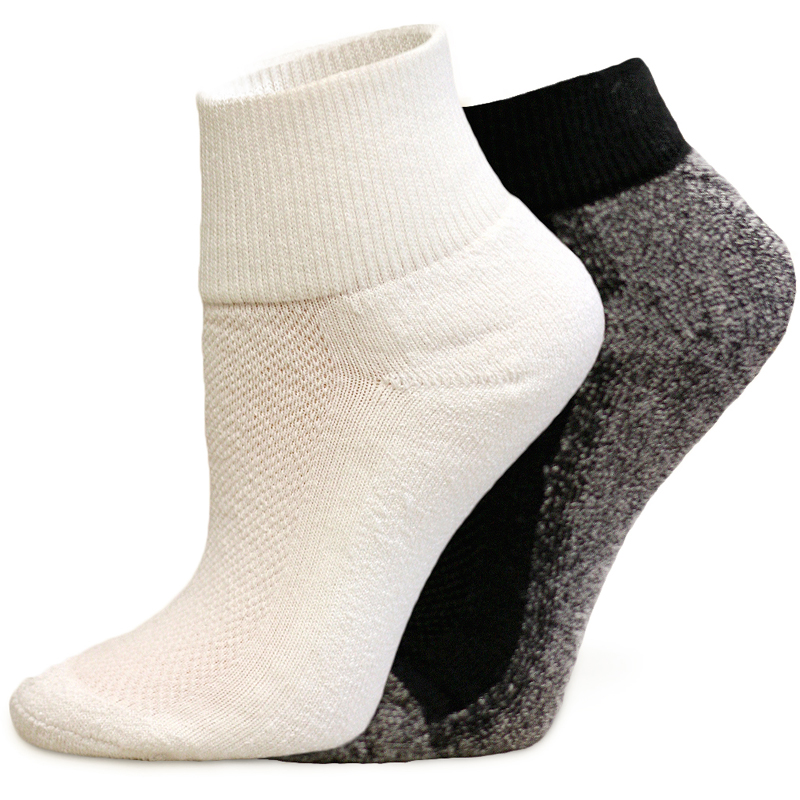 EarthHero - Organic Cotton Low Athletic Socks 1