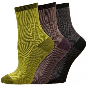 EarthHero - Organic Cotton Patchwork Dress Socks 1