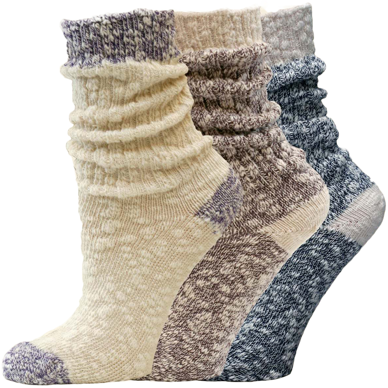 EarthHero - Organic Cotton Ragg Crew Socks 1