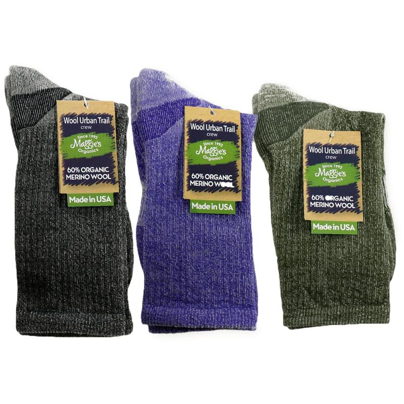 EarthHero - Organic Wool Urban Trail Crew Socks 2
