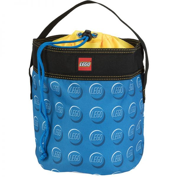 EarthHero - Blue Cinch LEGO® Storage Bucket  - 1
