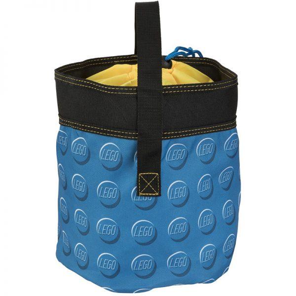 EarthHero - Blue Cinch LEGO® Storage Bucket  - 2