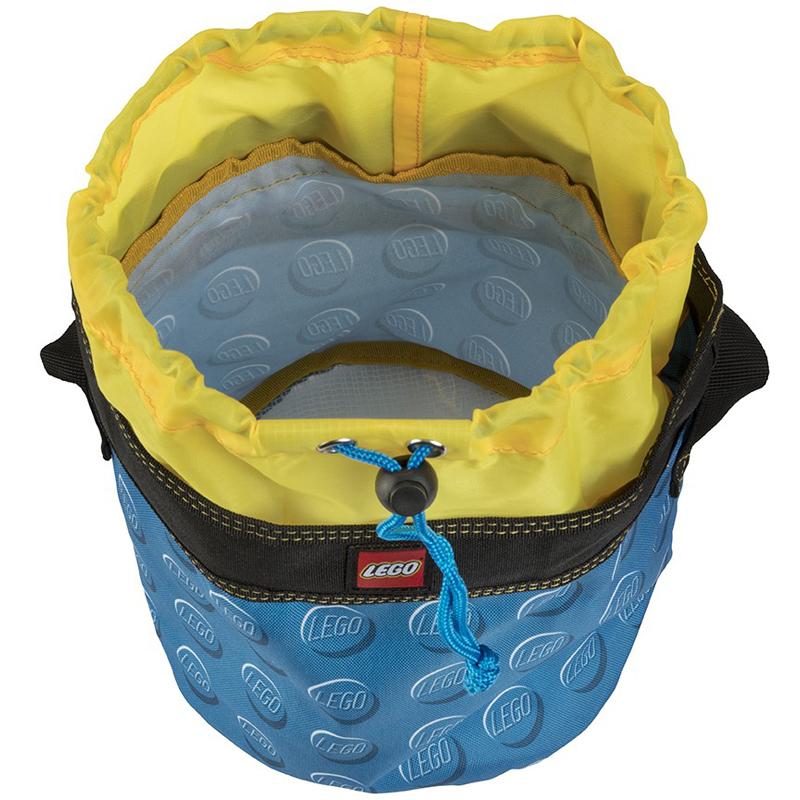 EarthHero - Blue Cinch LEGO® Storage Bucket  - 3
