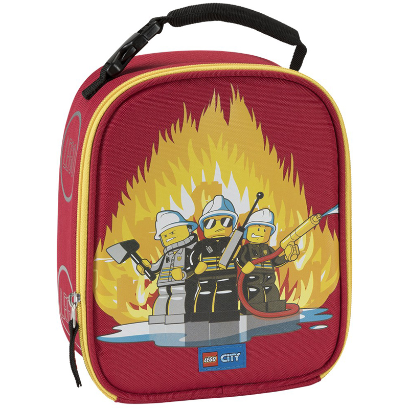 EarthHero - City Fire LEGO® Lunch Box - 1
