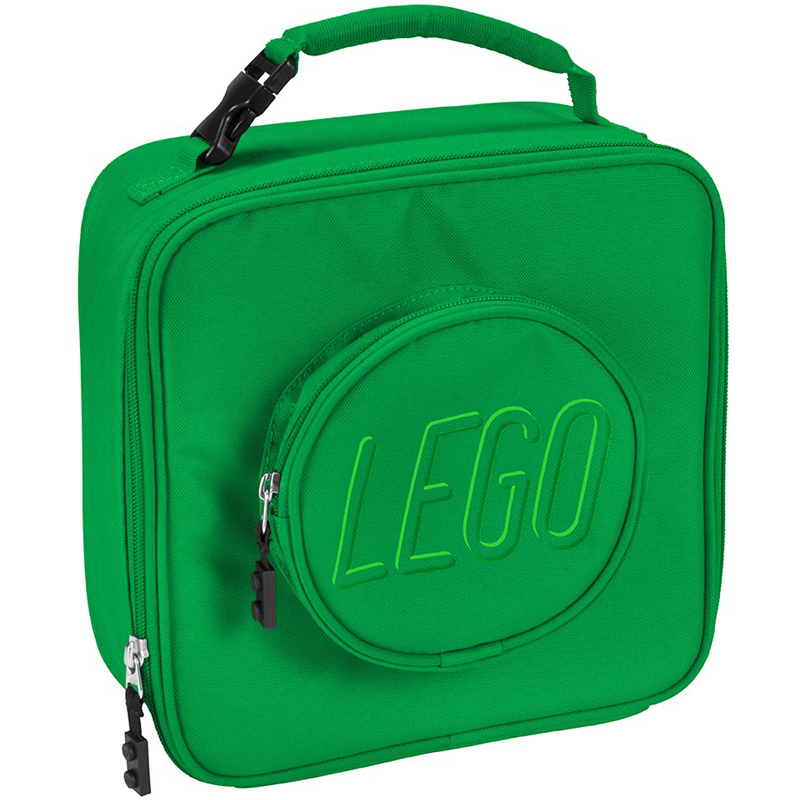 EarthHero - Classic Brick LEGO® Lunch Box - Green