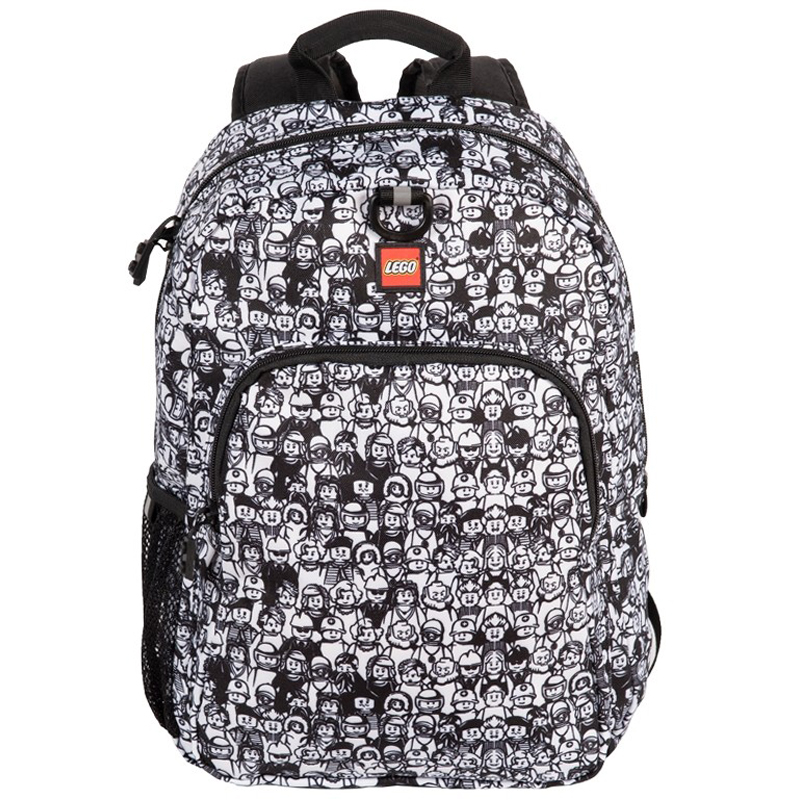 EarthHero - Minifigure Crowd Heritage LEGO® Backpack - 2