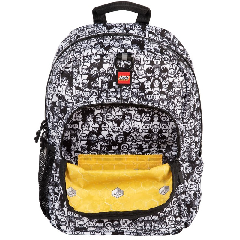 EarthHero - Minifigure Crowd Heritage LEGO® Backpack - 3