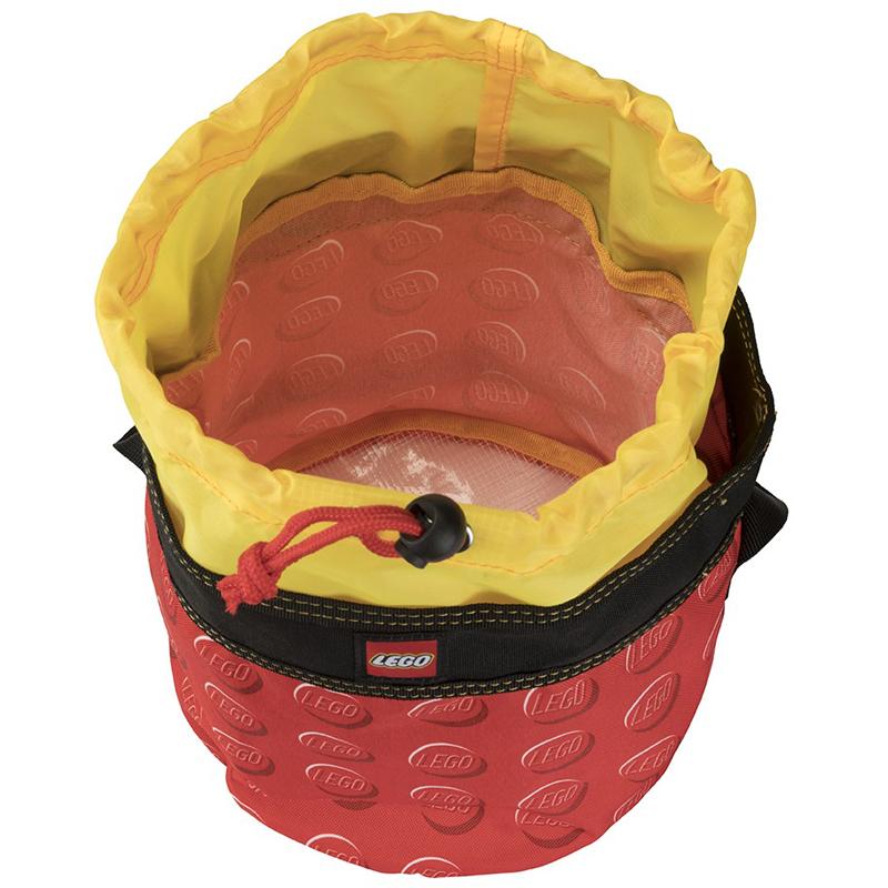 EarthHero - Red Cinch LEGO® Storage Bucket  - 3