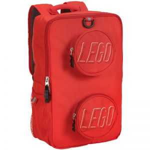 EarthHero - Classic Brick LEGO® Backpack  - Red