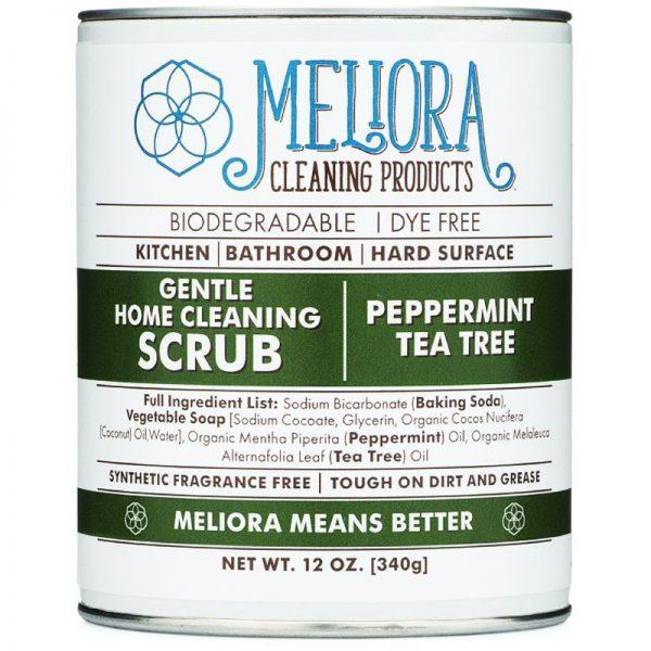 EarthHero - Gentle Home Cleaning Soft Scrub - Peppermint Tea Tree -