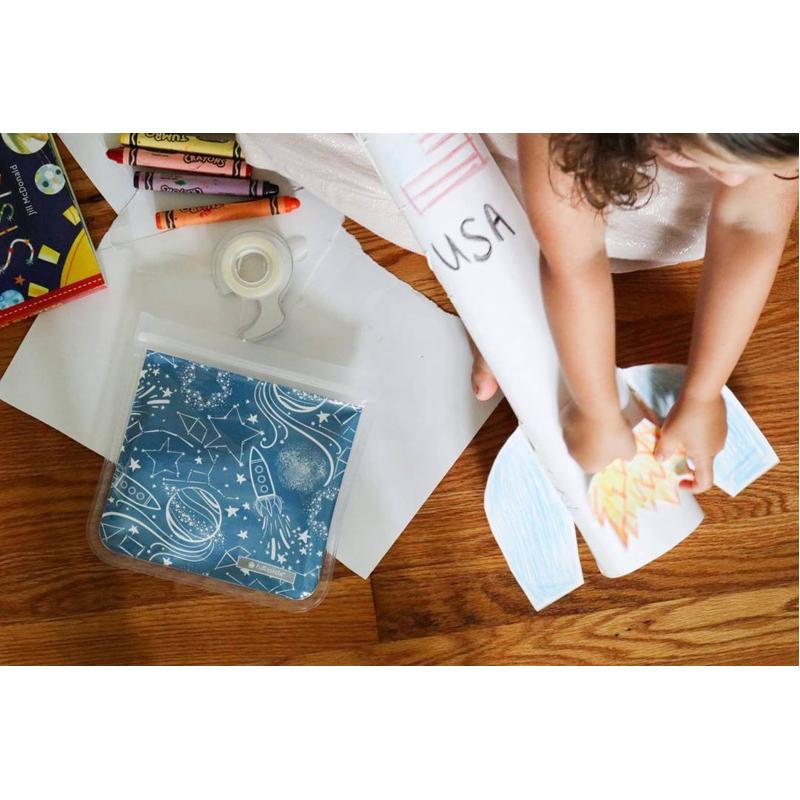 EarthHero - Kids ZipTuck Reusable Sandwich Bags - 4