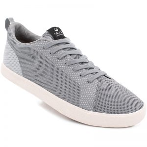 EarthHero - Men's Knit Cannon Vegan Shoes - Dark Grey
