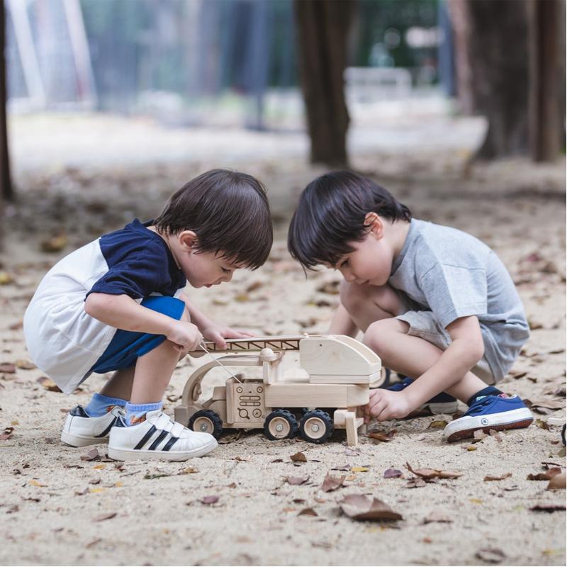 EarthHero - Fire Truck Toy - 2