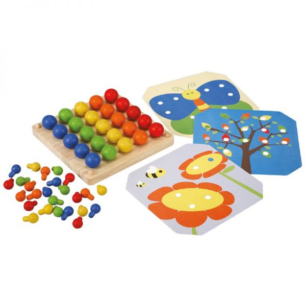 EarthHero - Kids Creative Pegboard - 1