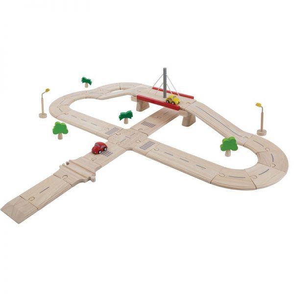 EarthHero - Kids Road & Rail Cartrack Deluxe Set - 1