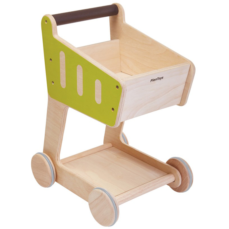 EarthHero - Pretend Play Shopping Cart - 1