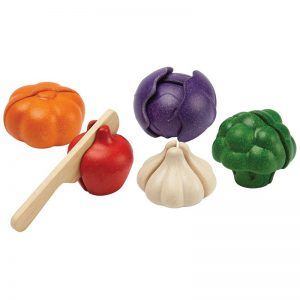 EarthHero - Realistic Veggie Play Food Sets - 5 piece - 1
