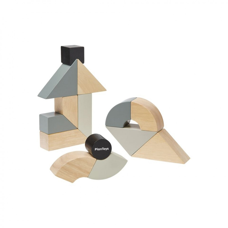 EarthHero - Twisted Wooden Building Blocks - 1
