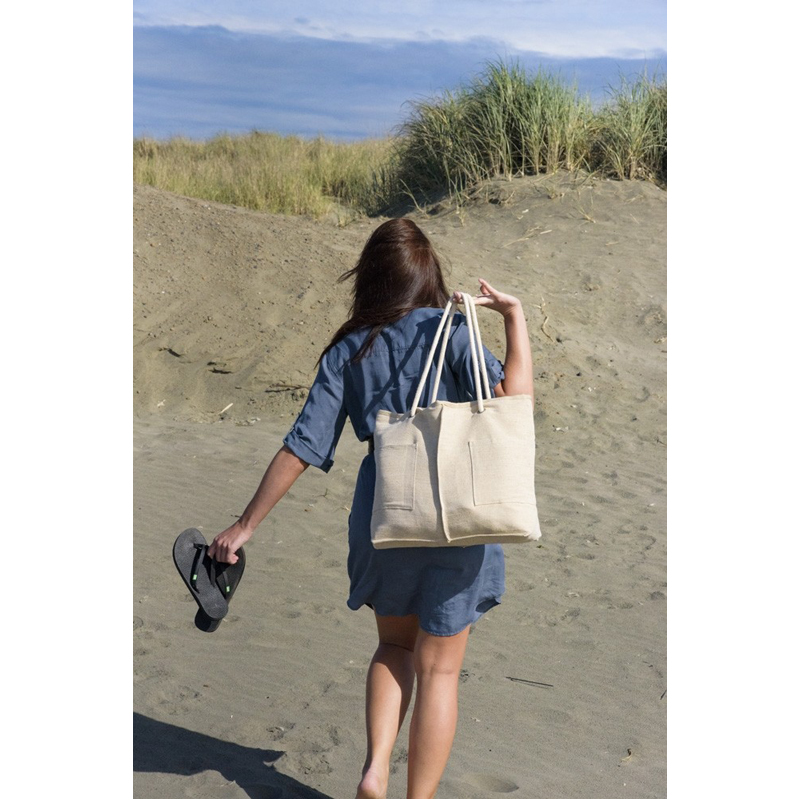 EarthHero - Hemp Cotton Caprice Tote Bag 2