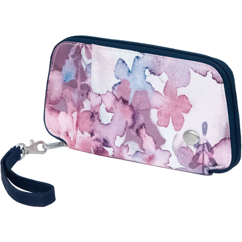 EarthHero - Fortitude Travel Wallet - Wildflower Print