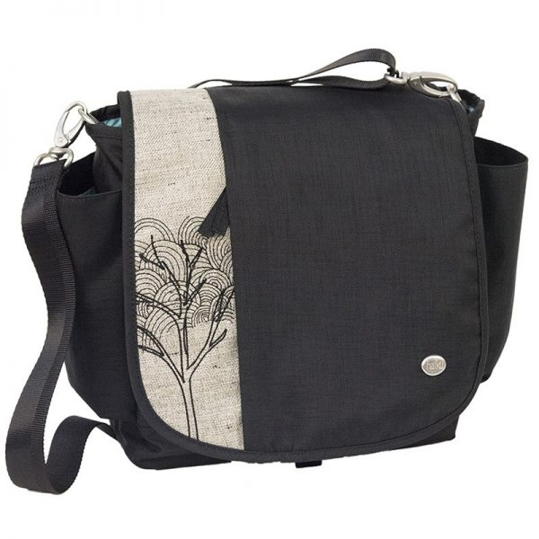 EarthHero - To Go Convertible Messenger Bag - Black Juniper