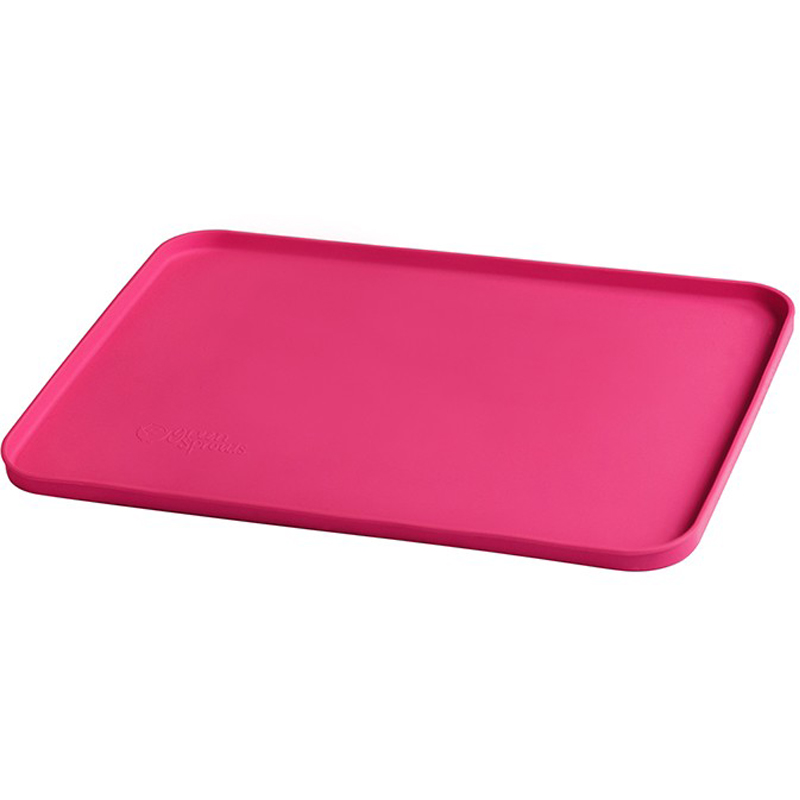 EarthHero - Kids Mini Silicone Placemat - Pink
