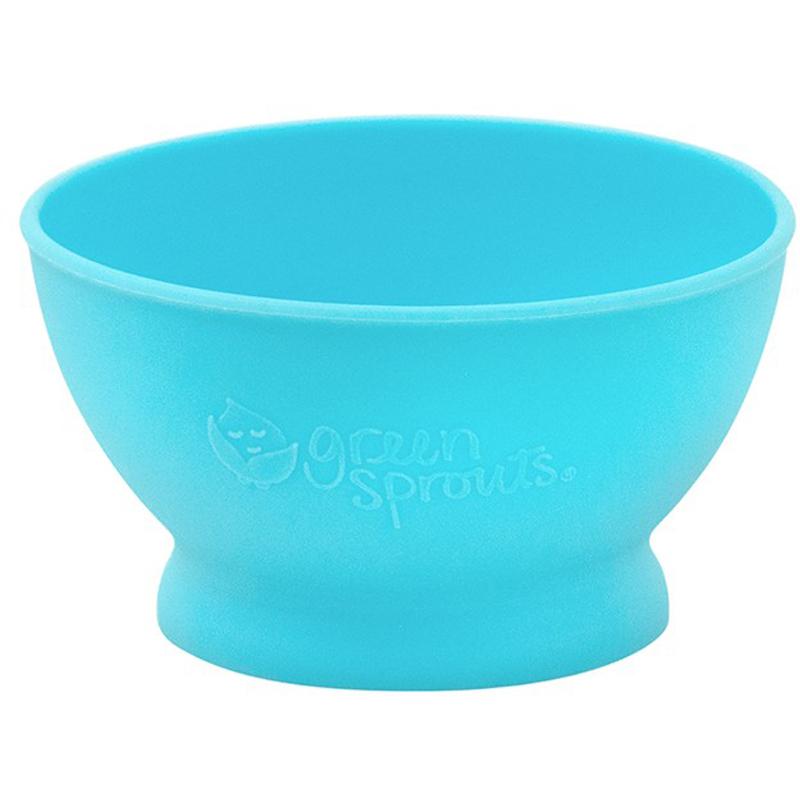 EarthHero - Silicone Feeding Baby Bowl - Aqua