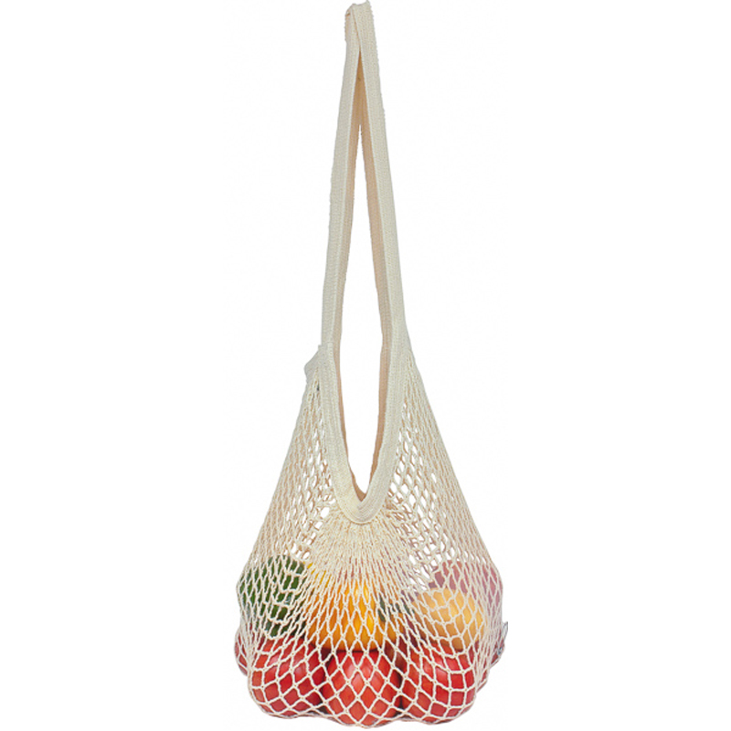 EarthHero - Reusable Cotton String Bag  - Long Handle