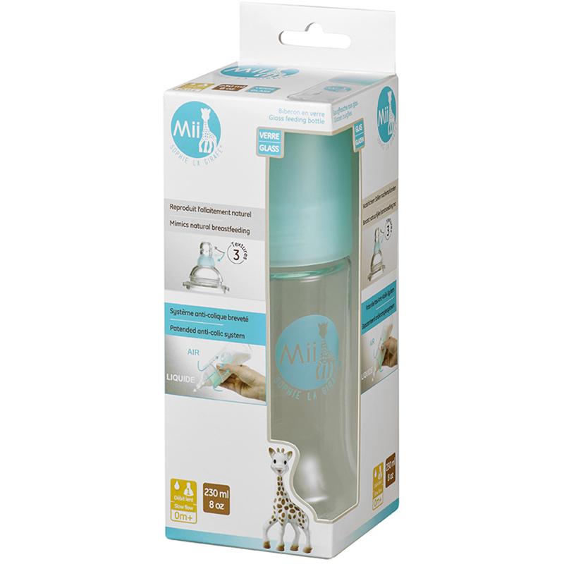EarthHero - Glass Baby Bottle- 8oz/230ml - 3