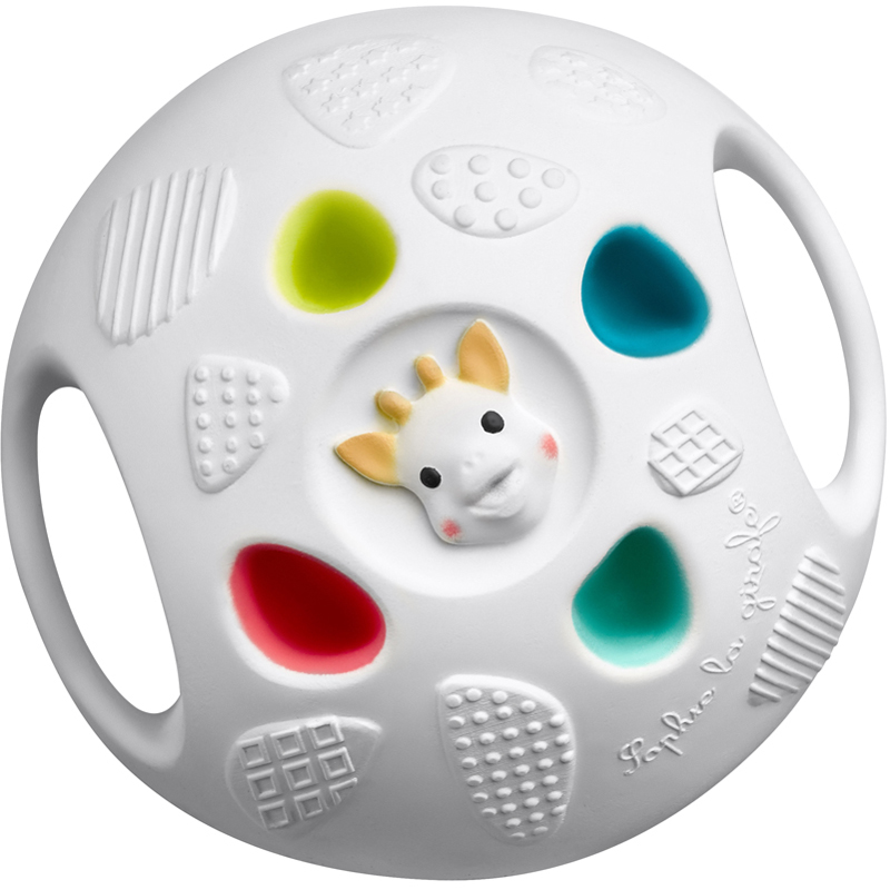 EarthHero - Natural Rubber Baby Sensory Ball - 1