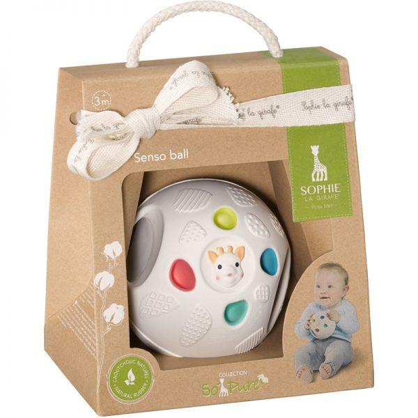 EarthHero - Natural Rubber Baby Sensory Ball - 2