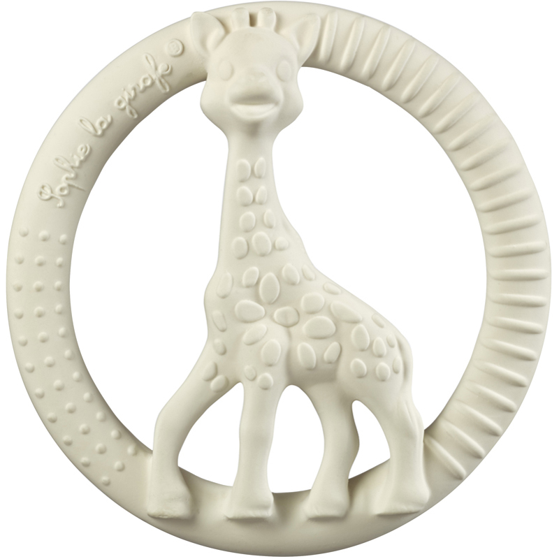 EarthHero - Natural Rubber Circle Teething Ring - 1