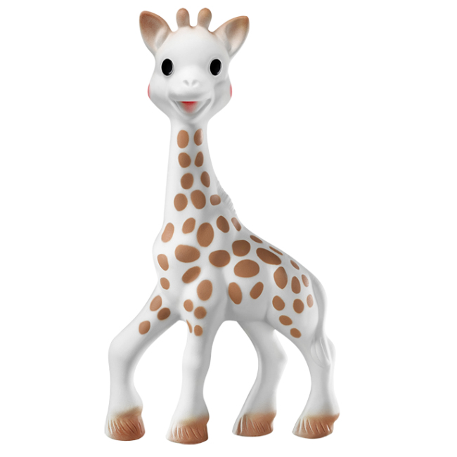 EarthHero - Natural Rubber Sophie the Giraffe Toy - 1