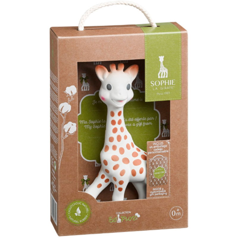 EarthHero - Natural Rubber Sophie the Giraffe Toy - 2