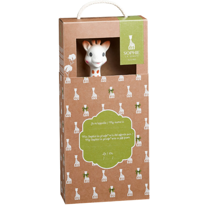 EarthHero - Natural Rubber Sophie the Giraffe Toy - 3