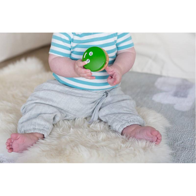 EarthHero - Kids Wooden Frog Castanet Clapper Toy - 3