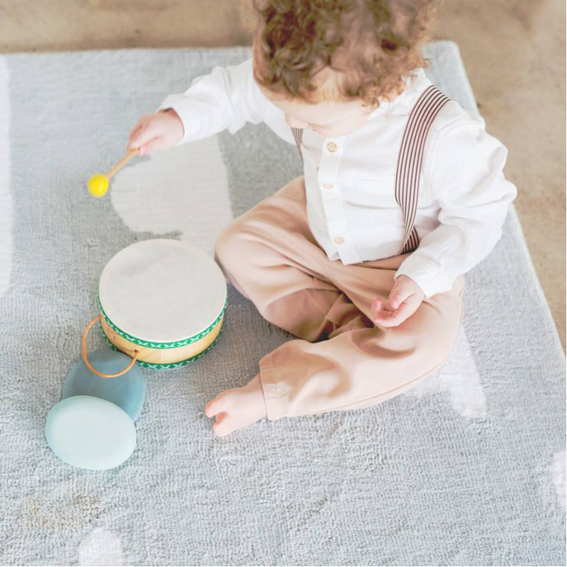 EarthHero - Natural Rubber Tom Tom Toddler Drum Set - 2